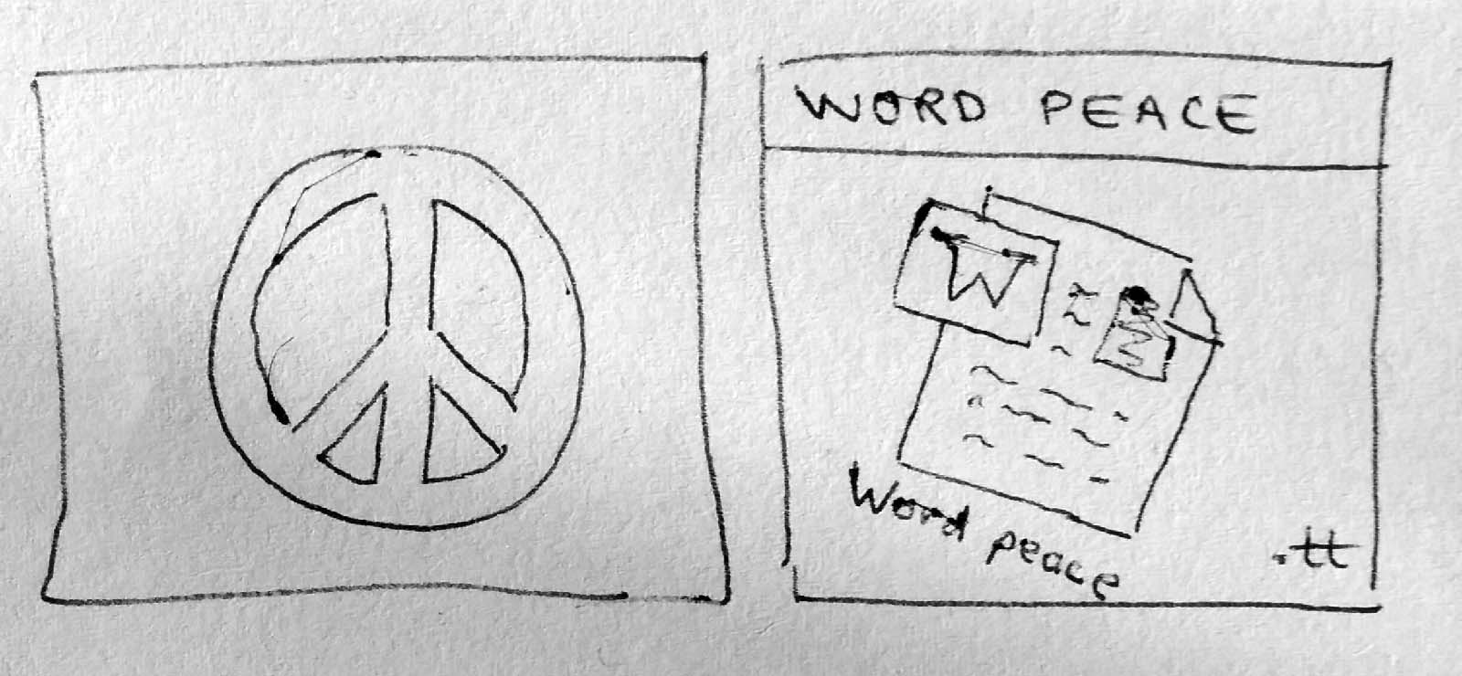Word peace